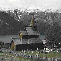 Urnes stave church in Sogn og Fjordane County is Norway's oldest