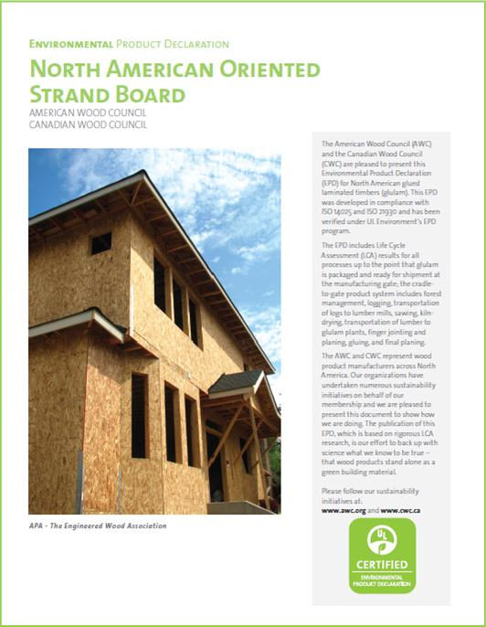 Oriented Strand Board