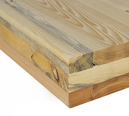 Cross-laminated timber board