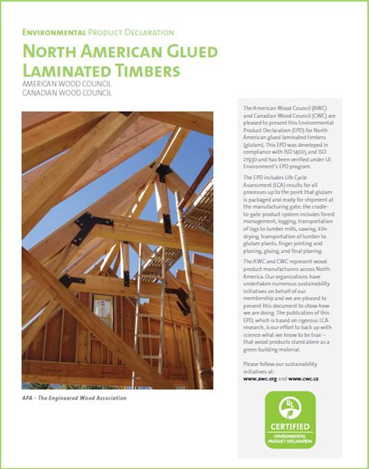 Glued Laminated Timbers